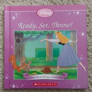 Ready, Set, Throw! Book